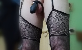My New Heels And Cage
