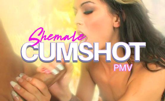 Shemale Cumshot PMV