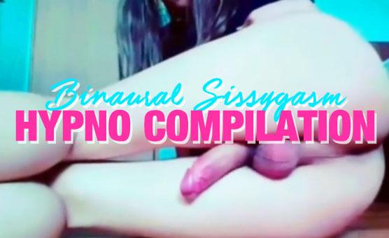 Binaural Sissygasm Hypno Compilation