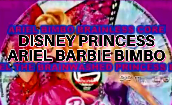 Disney Princess Ariel Barbie Bimbo