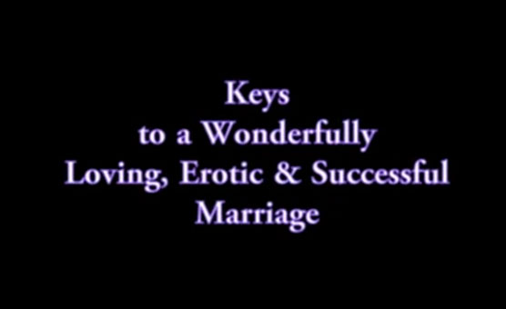 Keys to a Wonderful Marriage