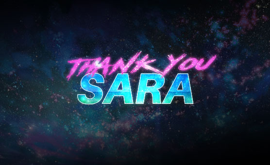 Thank You Sara