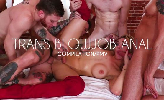 Trans Blowjob Anal Compilation/PMV