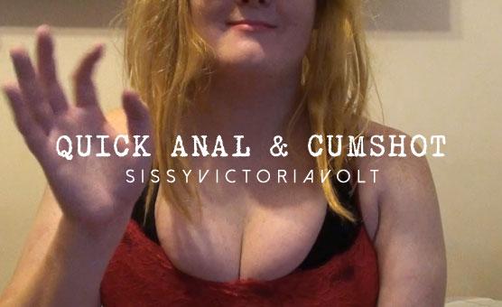 Quick Anal & Cumshot