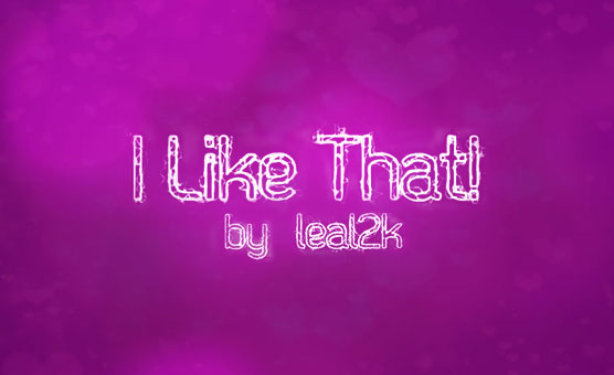 PMV Games 2019 - I Like That - leal2k