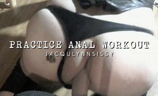 Practice Anal Workout