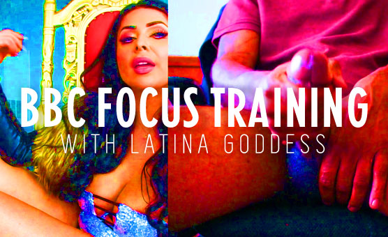 BBC Focus Training With Latina goddess