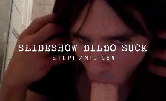 Slideshow Dildo Suck